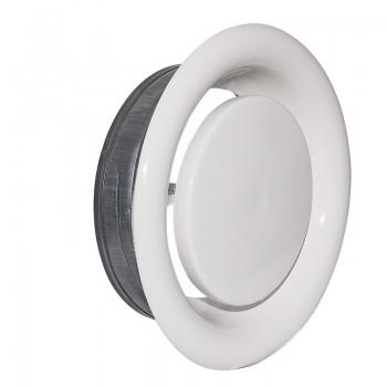 Диффузор вытяжной круглый с регулировкой PAV-A 100 (пластик)