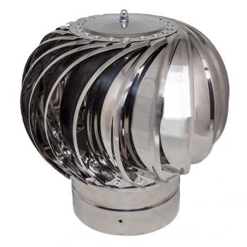 Дефлектор активный (нерж.сталь), d120
