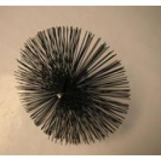 Металлическая щетка c узким плоским проводом 300мм